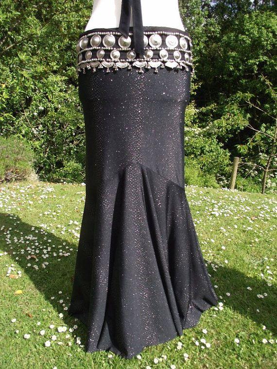 mermaid skirt tribal fusion skirt trumpet skirt fusion by luloah, £50.00