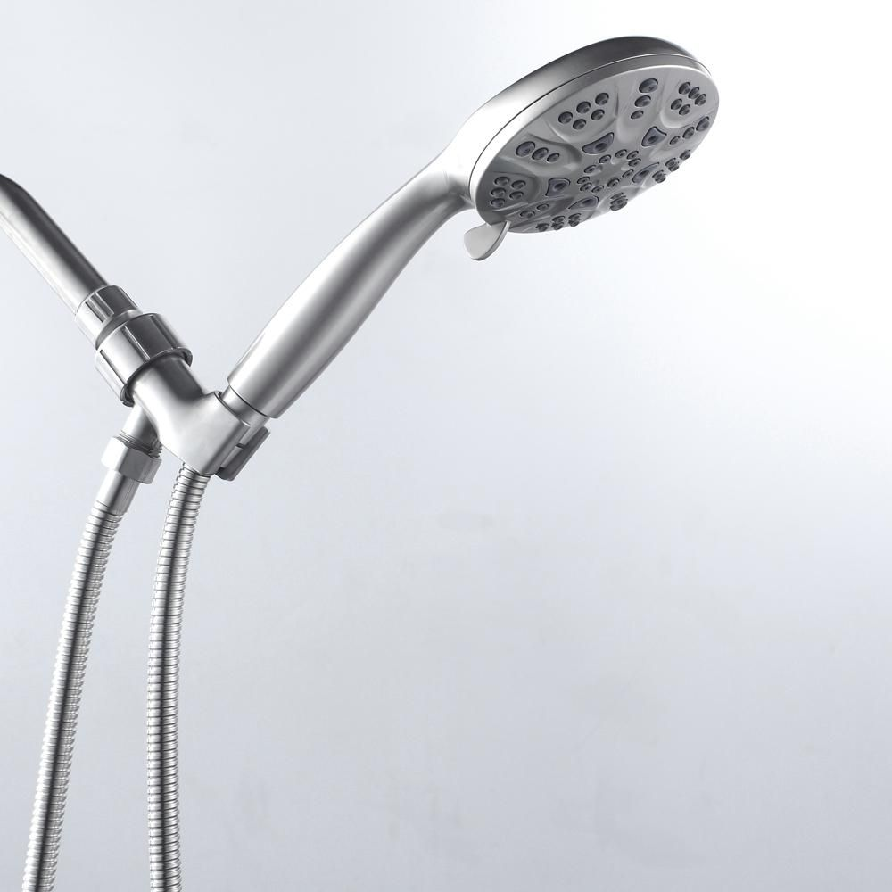 Boyel Living Brushed Nickel Handheld Shower Head In 2020 Hand
