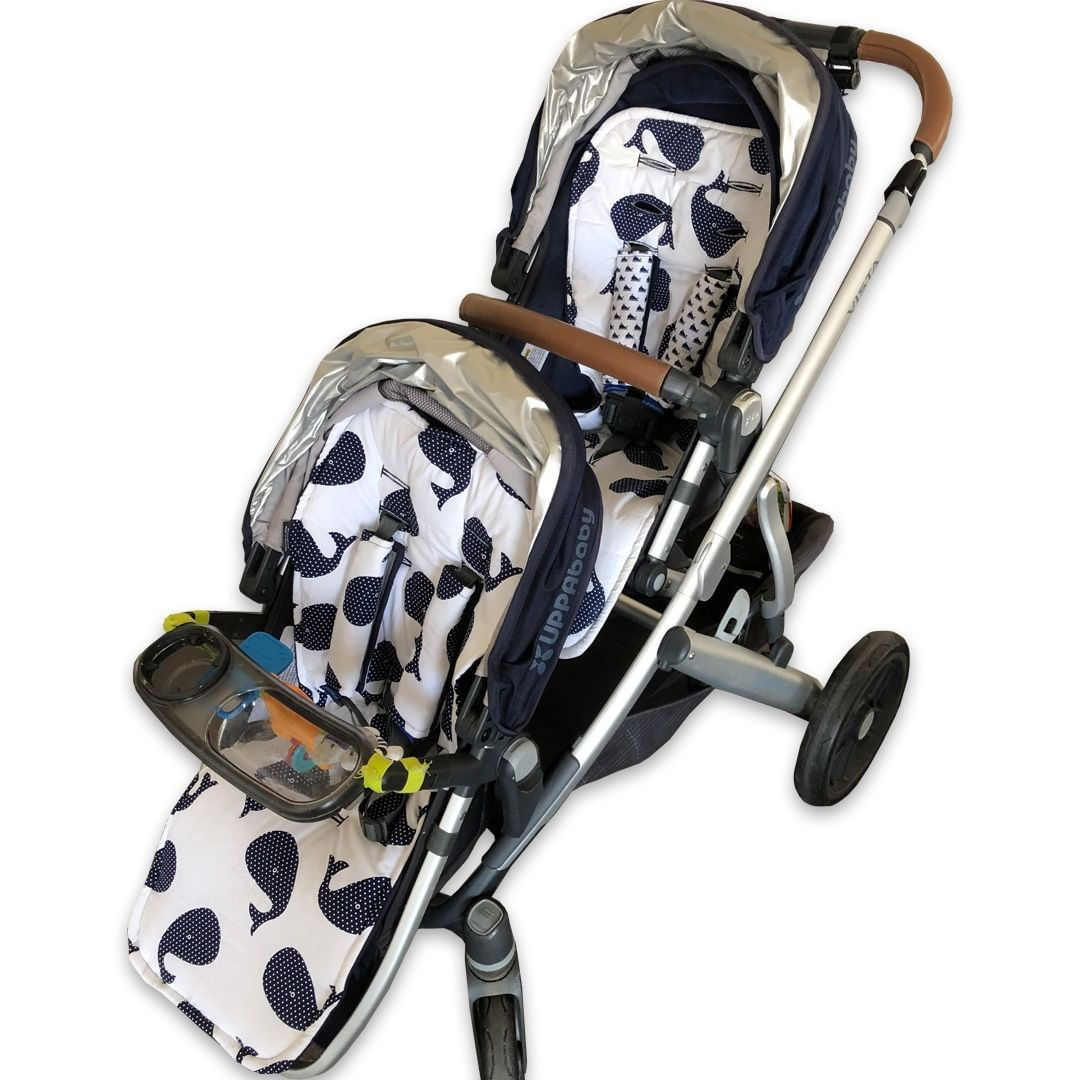 pramskins posted to Instagram Uppababy Vista main and