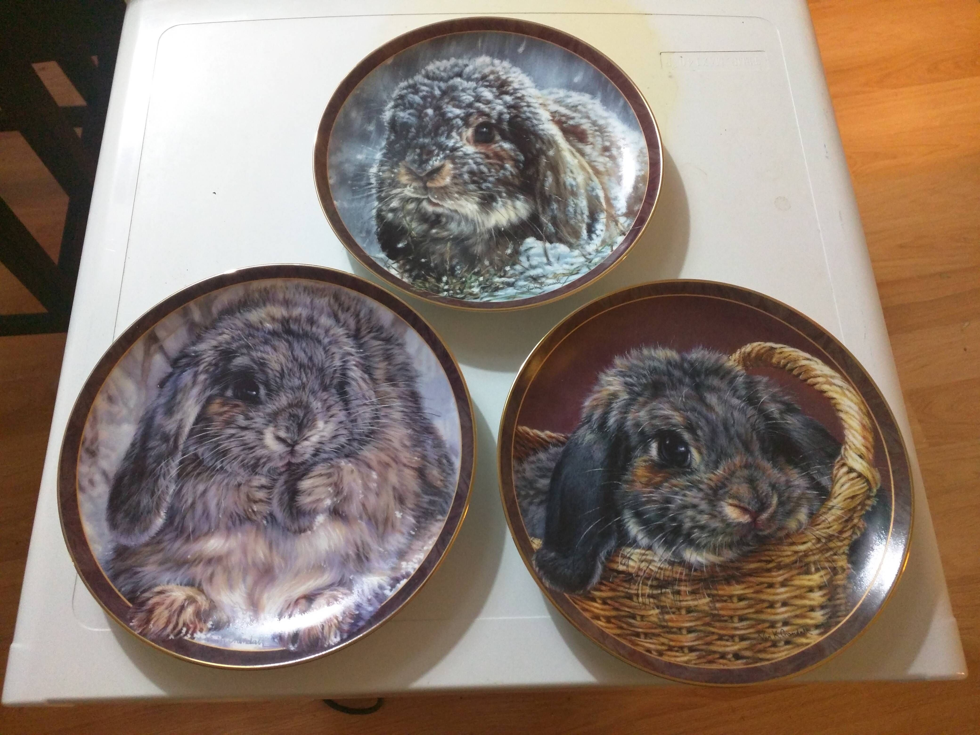 I was gifted some decorative plates. http://ift.tt/23Uq0Na