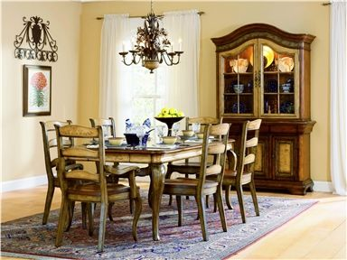 Want 10 Chairs For The Ding Room And China Cabinet Hooker Furniture Vineyard Rectangle Dining Set SALE Ends Jul 09