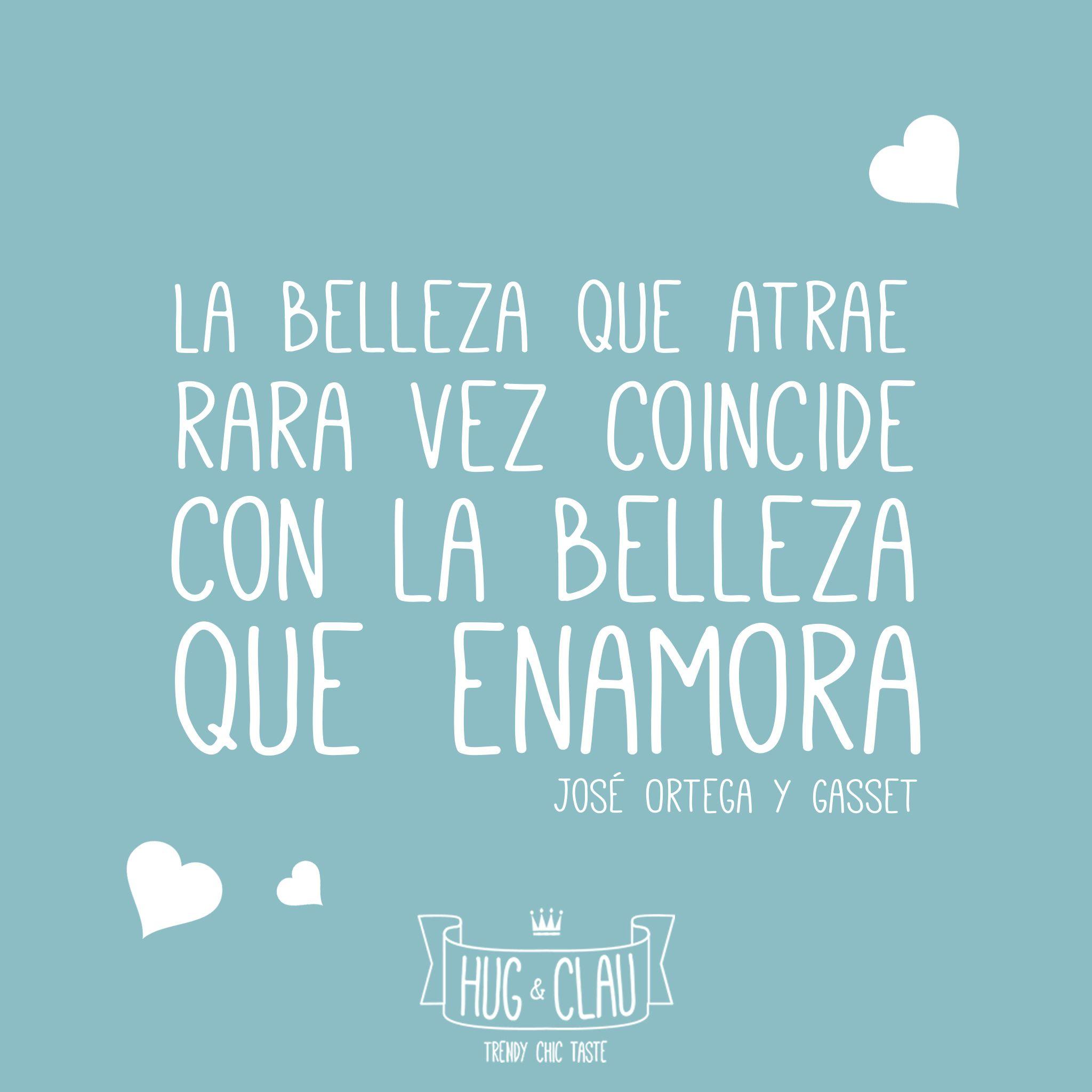 Enamórate y enamorarás... ¡Feliz Jueves! Equipo #Hugandclau  #Frases #motivación #frases #frasesHugAndClau #quote #quoteoftheday #GranVía2 #CCIslazul #CCTresAguas #CCH2O #CCMaxCenter