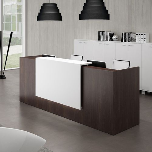 Modern Office Furniture Reception Desk Amusing Inspiration