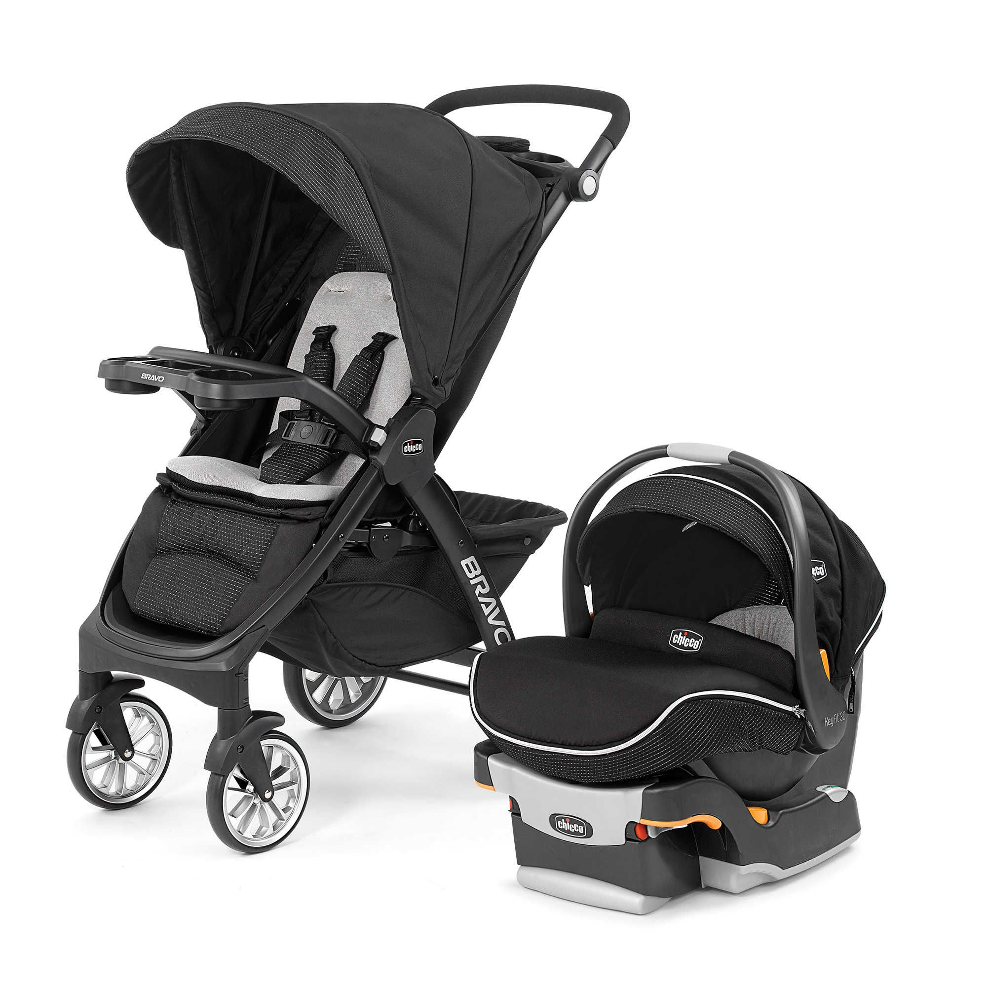 Chicco® Bravo® LE Trio Travel System in Genesis (With