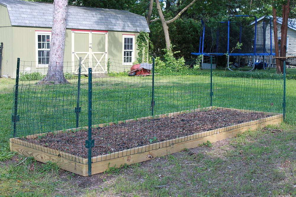 Small Garden Fencing: How To Build A Strawberry Protective Fence