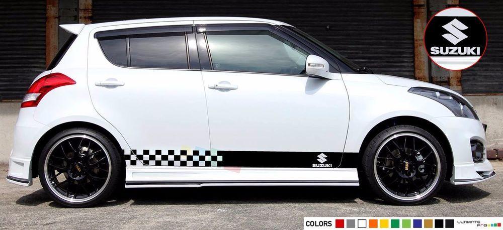 Sticker Stripe Kit For Suzuki Swift Sport Light Gear Shift
