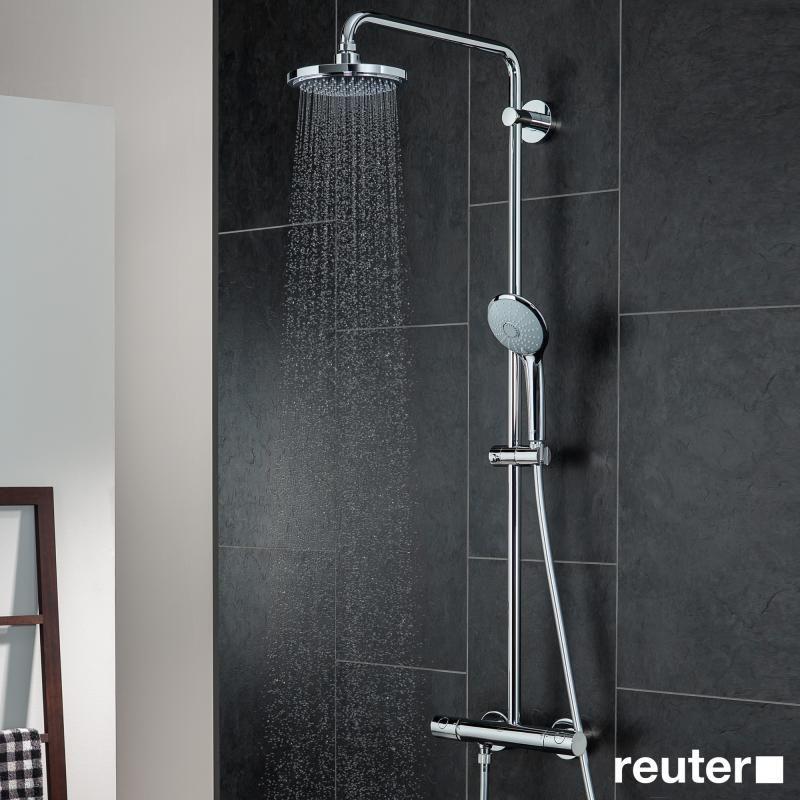 Grohe Euphoria Duschsystem für die Wandmontage mit Brausearm 450 mm - 27296001   Reuter Onlineshop