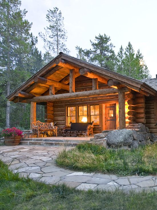 Lost Creek Jackson Wy Small Log Cabin Log Cabin Homes Log Homes