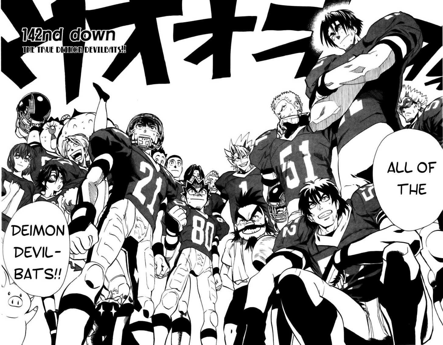 Read Manga Eyeshield 21 Online In High Quality