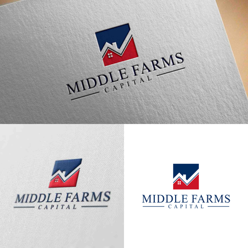 Middle Farms Capital Real Estate Investment Group Logo Needs A Logo Real Estate Investment Group Monogram Logo