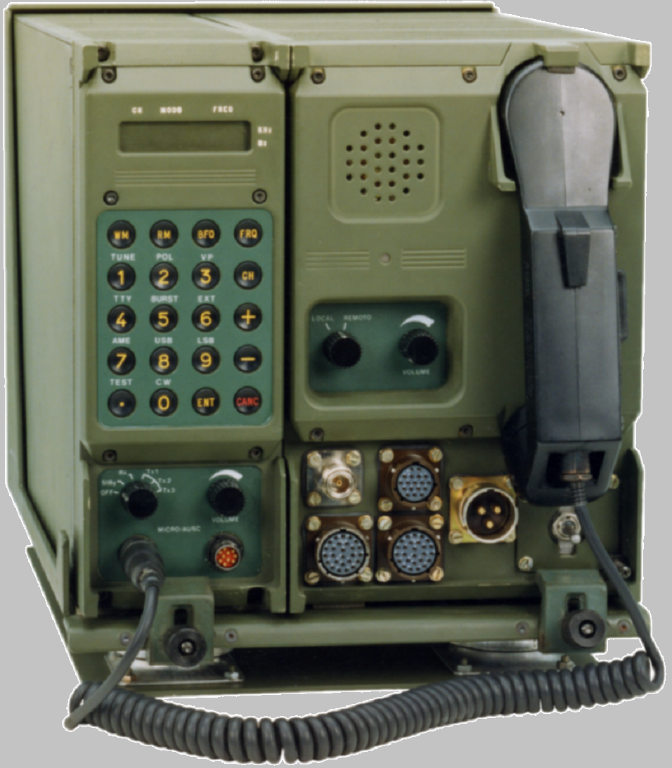 VHF hand-held radio - It is also Military Communication