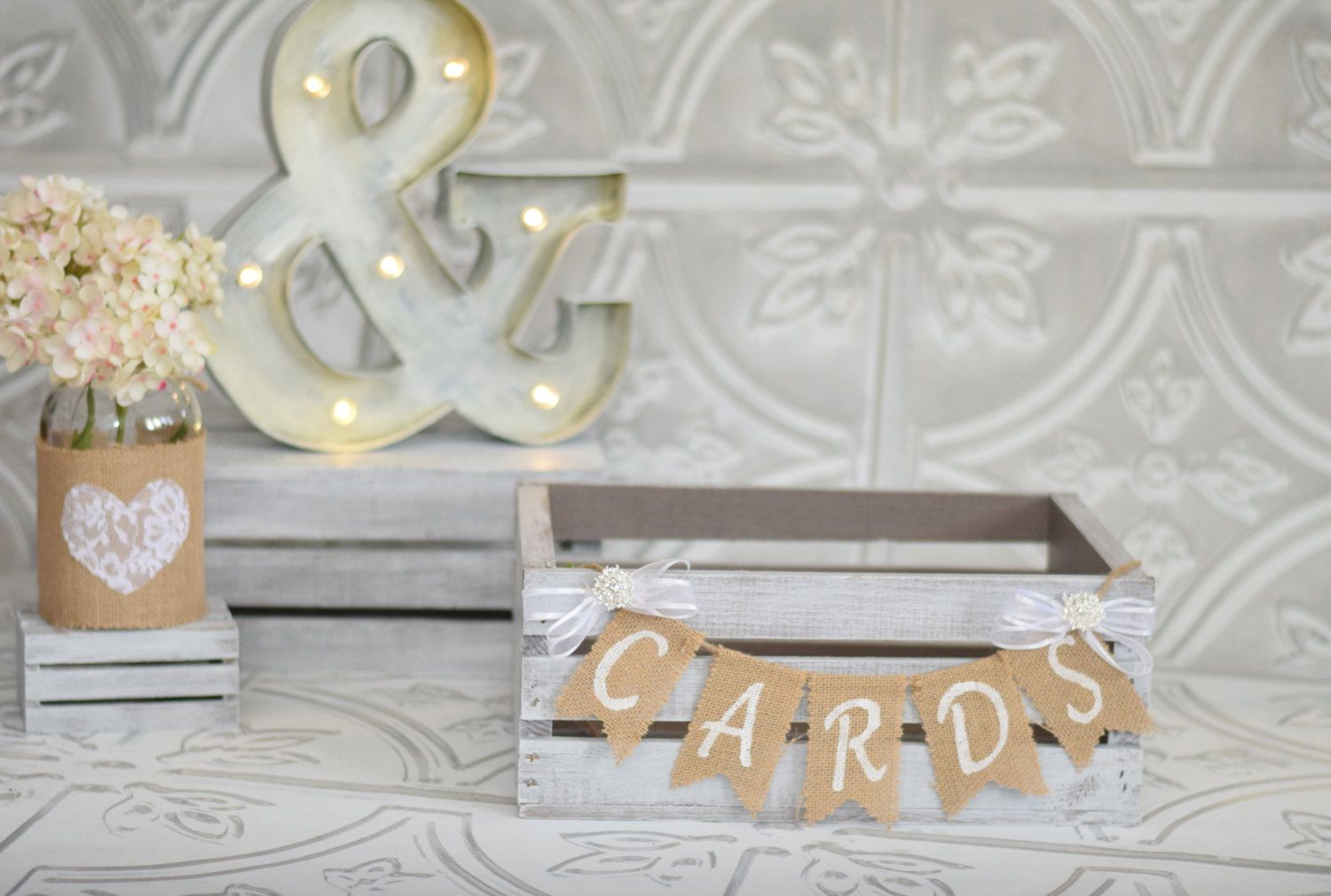 Shabby Chic Wedding: love this CARDS Banner! ~ Rustic Daisy Designs ...
