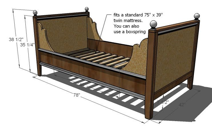 Build A Lydia Daybed