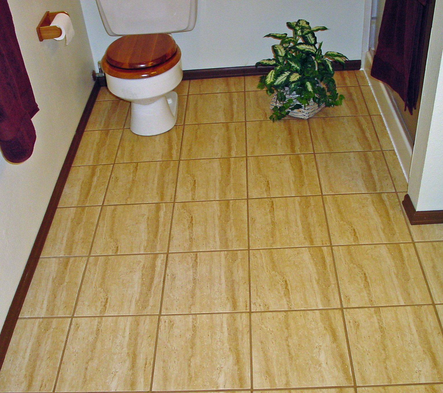 How To Lay Vinyl Floor Tiles In Bathroom: How To Lay A Floating Porcelain Or Ceramic Tile Floor Over