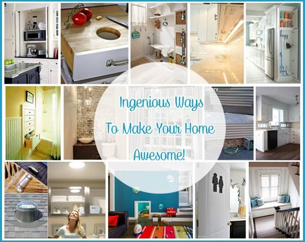 Make your dream home come true with this insanely clever ideas! If you thinking about renovating, first off all check this makeover ideas, that will move y