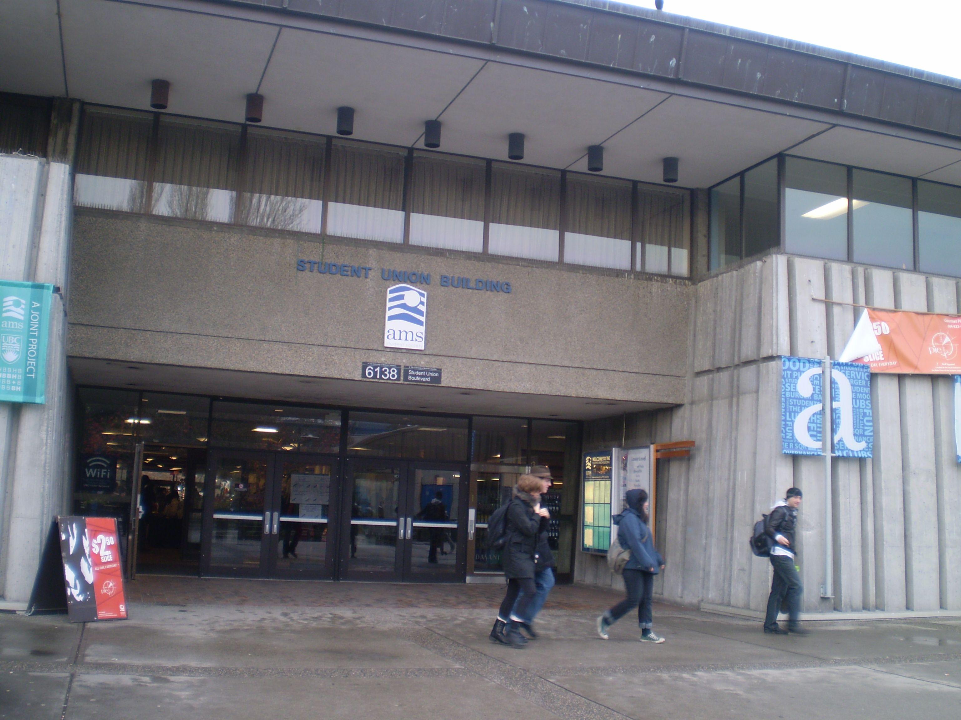 ブリティッシュコロンビア敷地内に位置するStudent Union Buldingです。ドリンクやフードの購入が出来ます。ELIの詳しい情報はこちらから☆http://www.vc-ryugaku.com/school/lang/s32.html