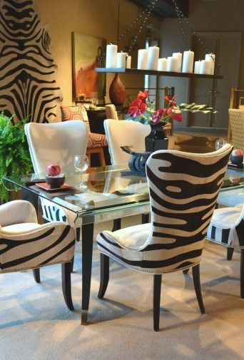 Gentil Denmark Zebra Chair Set... These Chairs Are The Truth!! Not Really Aunt  Mode But Definitely Lindseyu0027s Style.