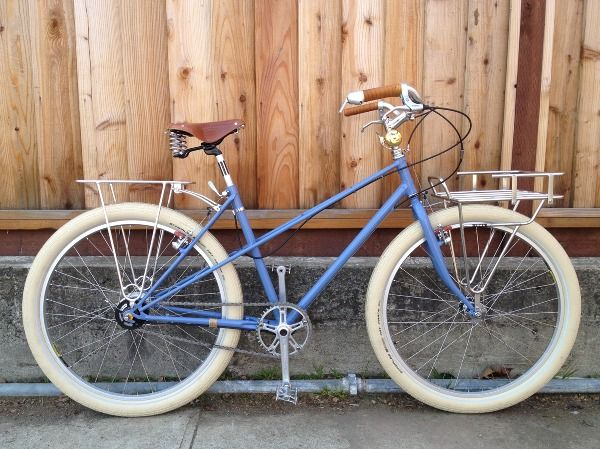 1980 S Univega Mixte Re Imagined And Rebuilt By Brazen Bicycles