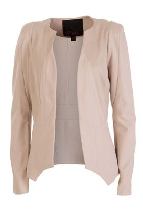 Persuit Jacket by WISH is a tailored women's jacket with full length sleeves and…