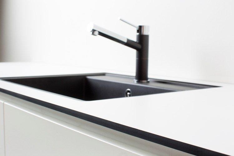 b nkskiva i kompaktlaminat w450d underlimmad diskho blanco dalago 6 silgranit antrazit. Black Bedroom Furniture Sets. Home Design Ideas