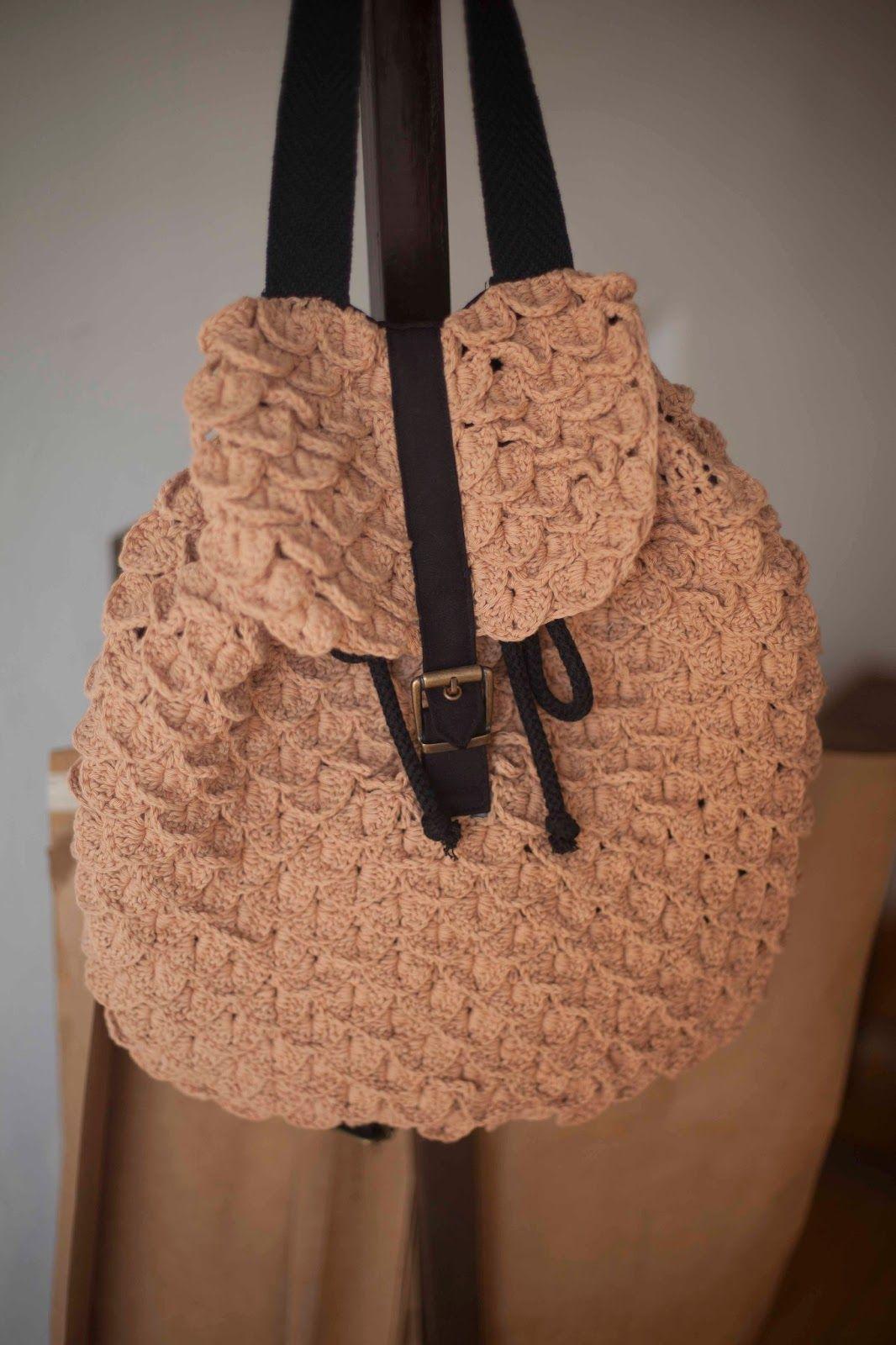 mochila tejida a crochet - Buscar con Google