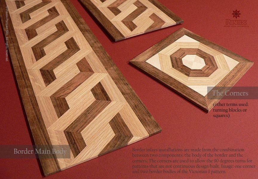 No 118 Hardwood Floor Borders The Components An