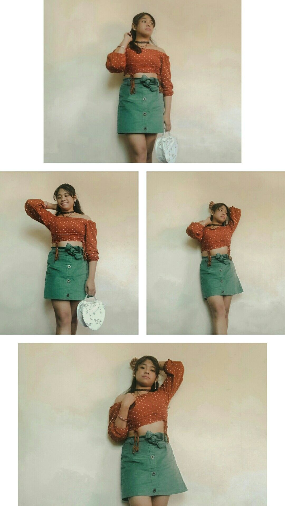 I'm kind of obsess rn with the orange and green #outfits combination. I never thought that it will actually good together - like the thoughts of me not makin it. It actually takes courage to do what you believe will give you joy - and who knows - you will find a better version of you after 🌾#positivity • #fashion #fashionph #personalstyle #ootdph #fashionblogger #styleblogger #fashioninspo