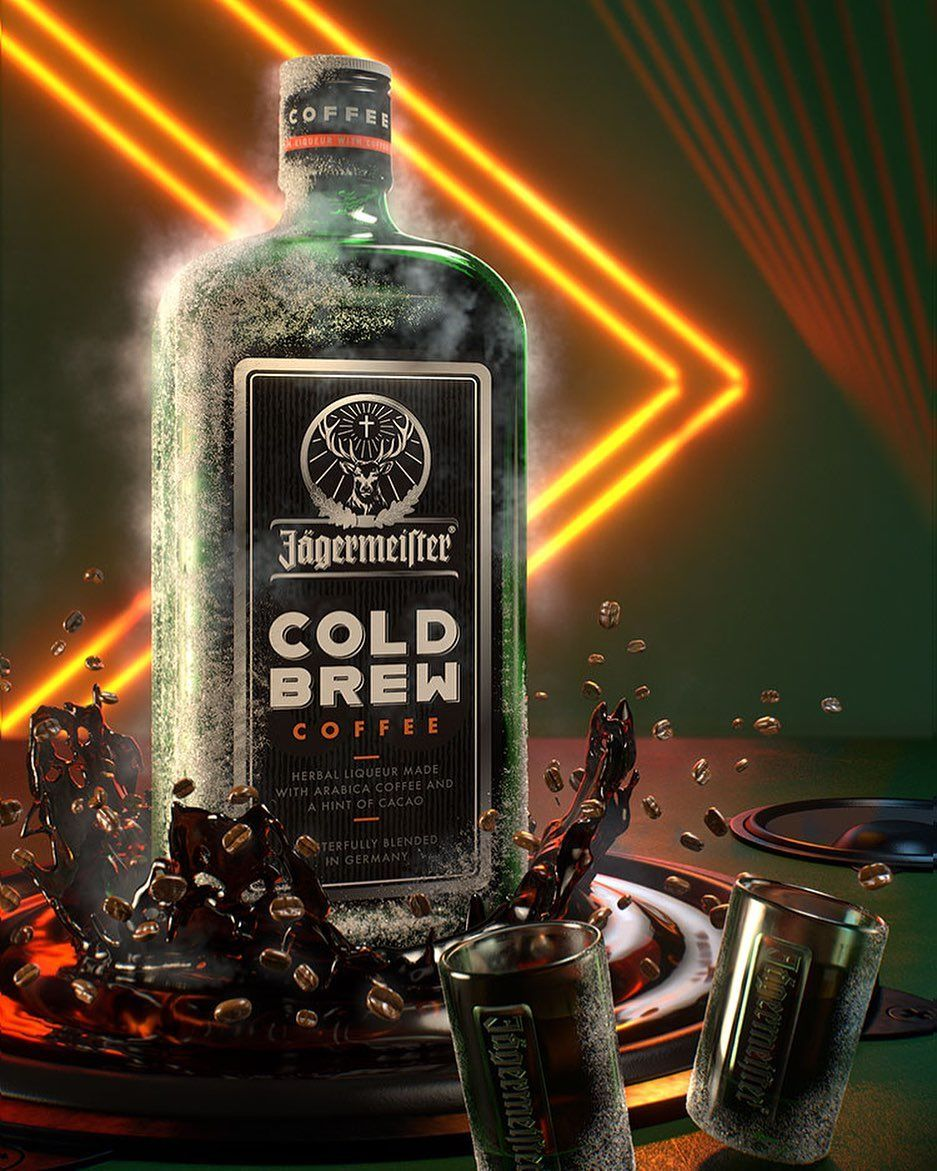 Jagermeister Is Bringing The Taste Of The Morning To The Iconic Liqueur The Famous Alcohol Brand Is Introducing Jagermeister C Minuman Makanan Minuman Makanan