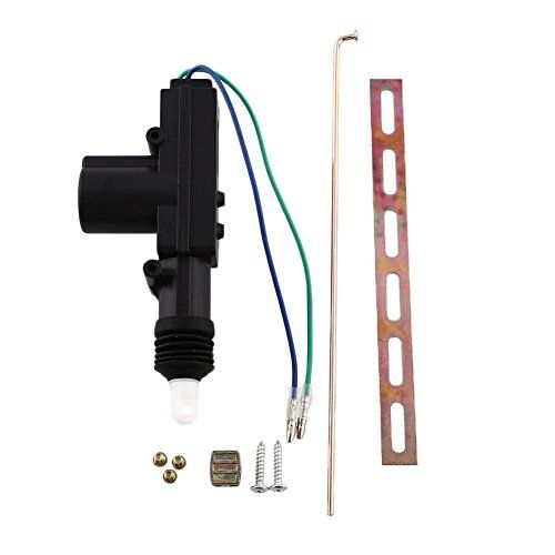 Sedeta 2 Wire Door Central Lock 12v Dc Motor Solenoid Actuator Car Safety Click Image To Review More Details This Is An Aff Car Safety Car Accessories Car