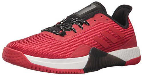 Cloudfoam Ultimate, Chaussures de Gymnastique Homme, Noir (Core Black/FTWR White/Core Red S17 Core Black/FTWR White/Core Red S17), 43 1/3 EUadidas