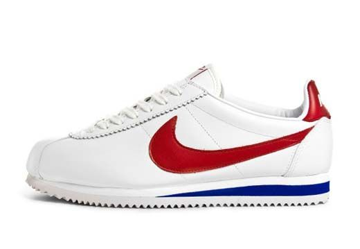 Nike Cortez Leather | White / Red / Blue