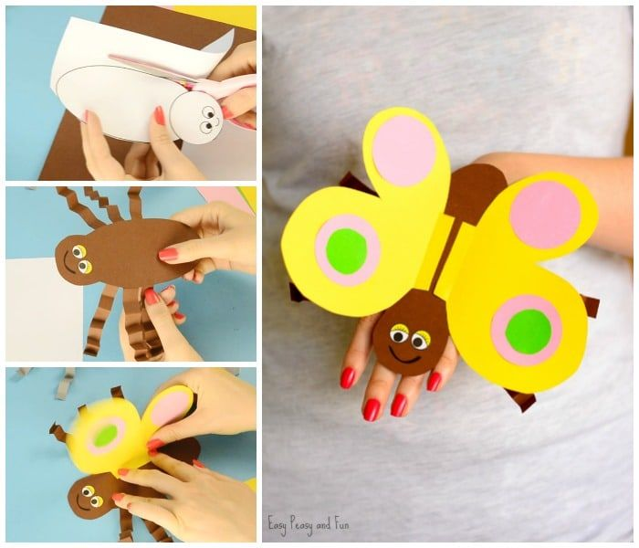 Check How To Make This Insanely Fun Butterfly Puppet