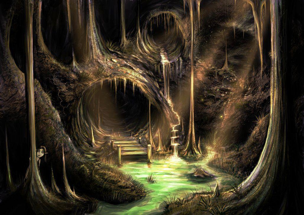 caves in greek mythology