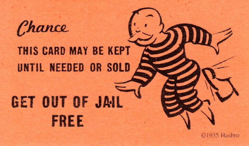 Getoutofjailfreecardclipart are the get out of jail free getoutofjailfreecardclipart are the get out of jail free cards going to be printed in time m4hsunfo