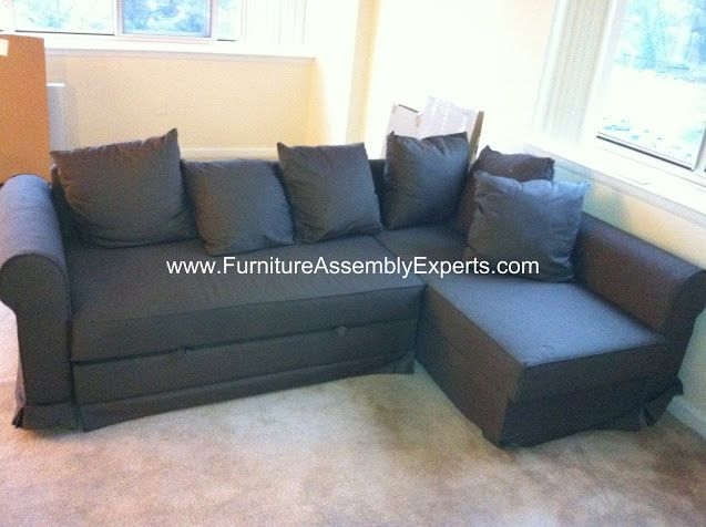 Ikea Moheda Sofa Bed Assembled In Arlington Va By Furniture Assembly Experts Company Call 202 787 1978 L Shaped Bunk Beds Ikea Sectional Sofa Ikea Sofa Bed