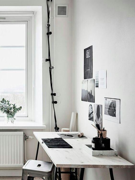 Häusliches Arbeitszimmer Einrichten Schreibtisch
