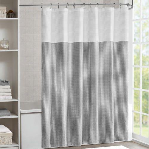 Laurel Foundry Modern Farmhouse Moreland Shower Curtain Gray
