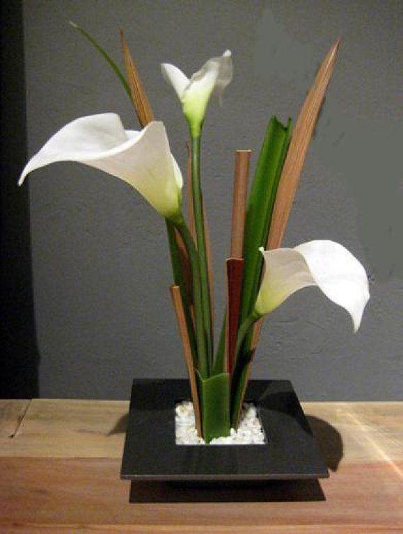 Image result for arreglos florales artificiales para casa - Decoracion de jarrones con flores artificiales ...