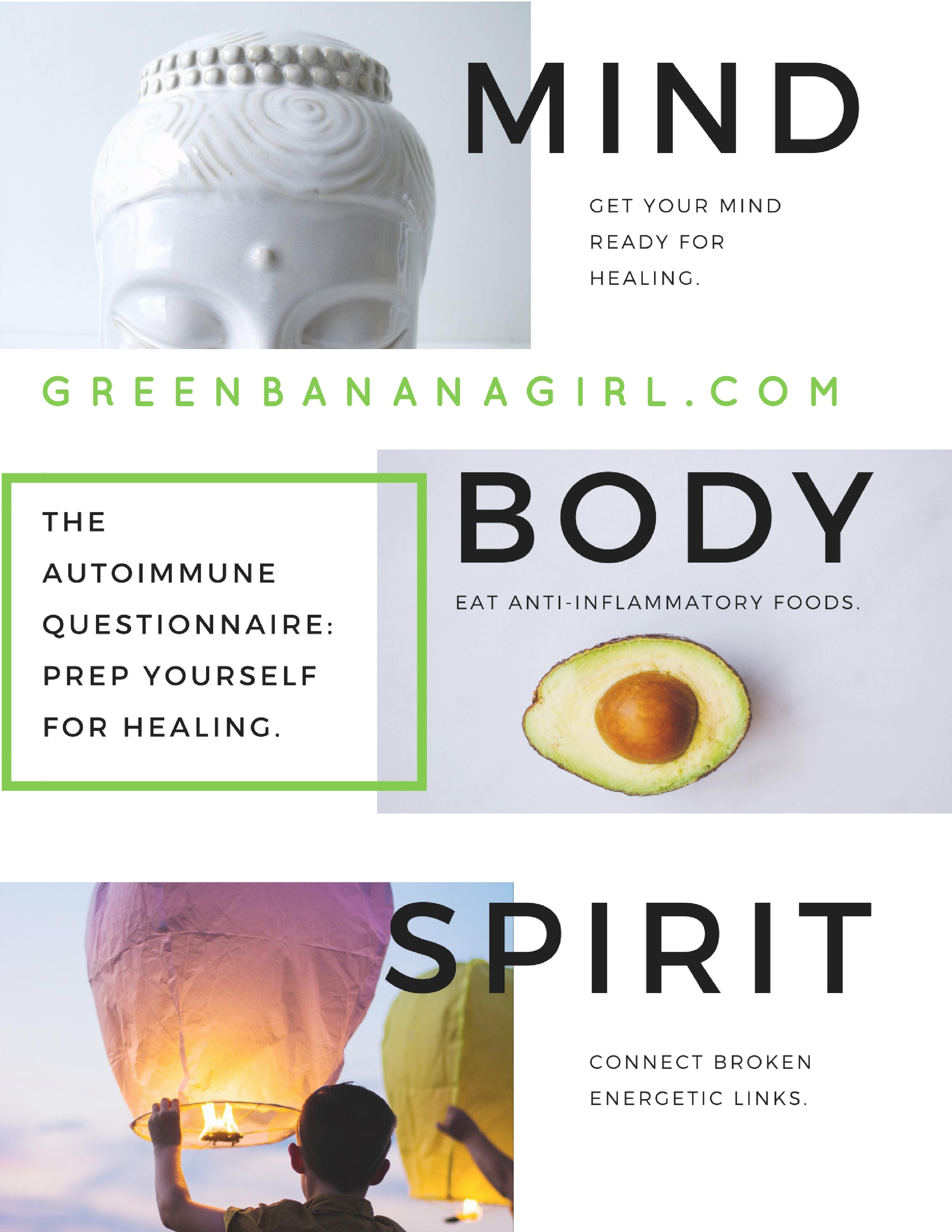 Get Your Free Autoimmune Healing Workbook Healing Autoimmune Anti Inflammatory Recipes