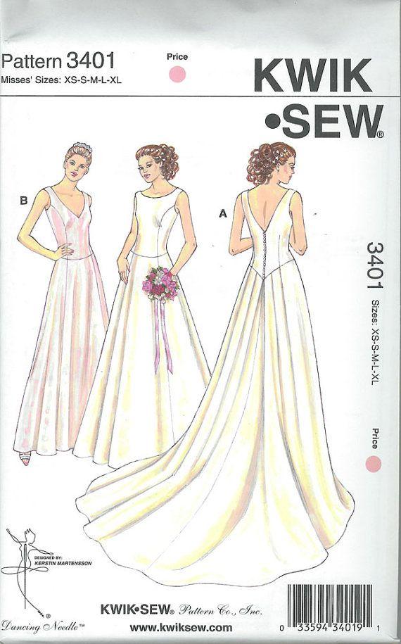 Item # 3401 Marque : Kwik Sew ÉPUISÉ Type : manque Nom : Robe de ...