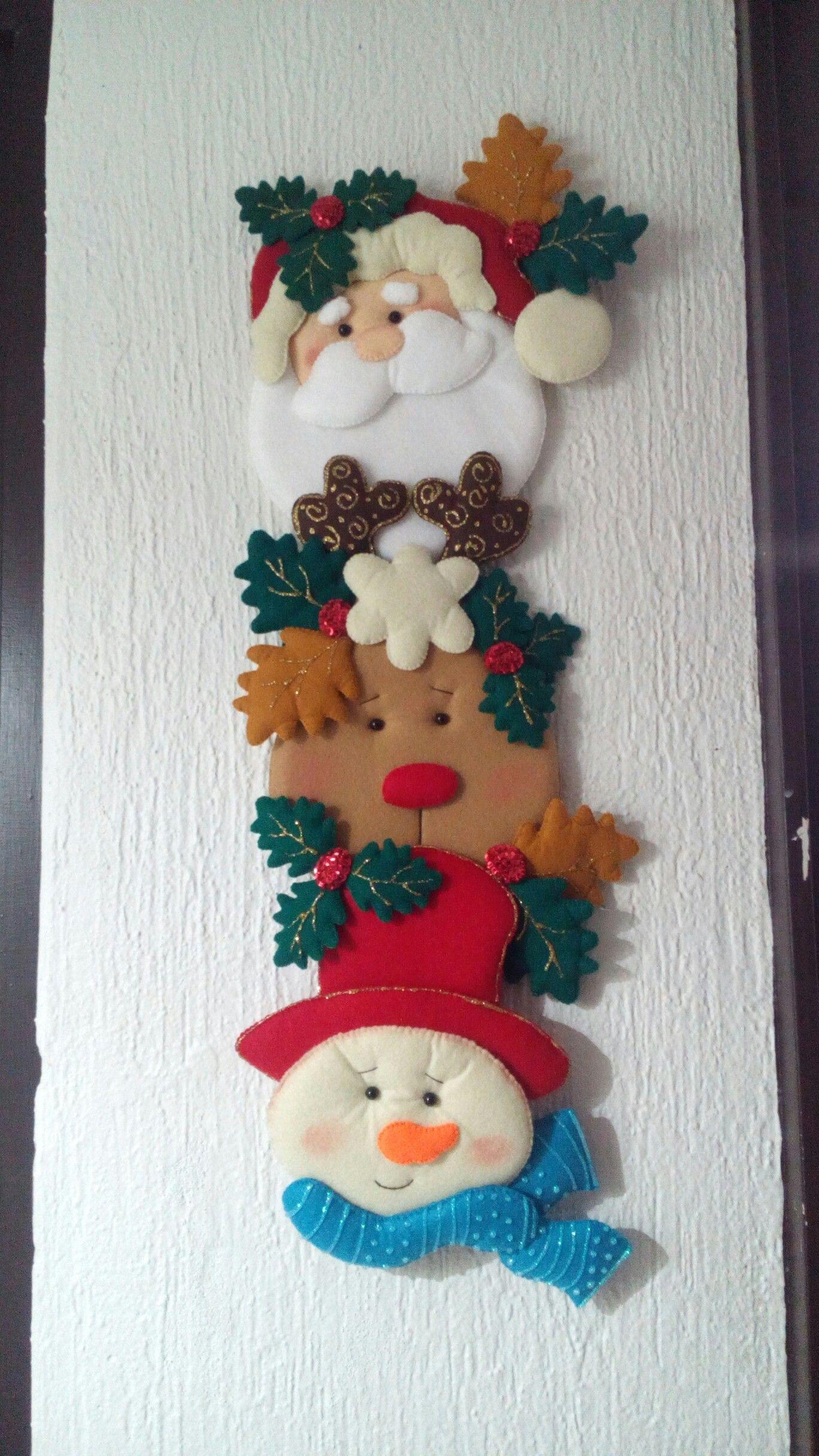Navidad costura navidad christmas decorations - Decoraciones navidenas manualidades ...