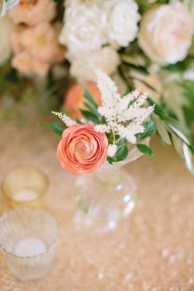 Sweet floral detials: http://www.stylemepretty.com/little-black-book-blog/2015/03/25/a-true-celebration-of-love-in-santa-barbara/   Photography: I Heart My Groom - http://www.iheartmygroom.com/