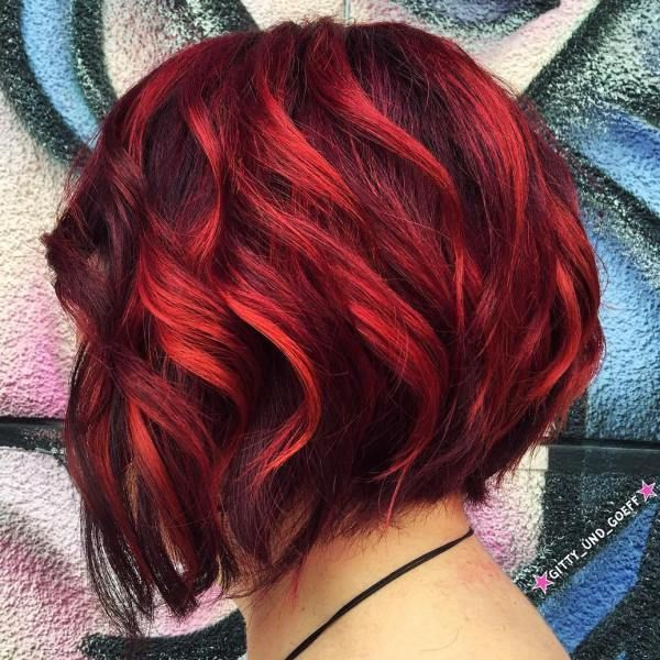 40 On Trend Balayage Short Hair Looks Red Balayage Hair Short Hair Balayage Short Red Hair