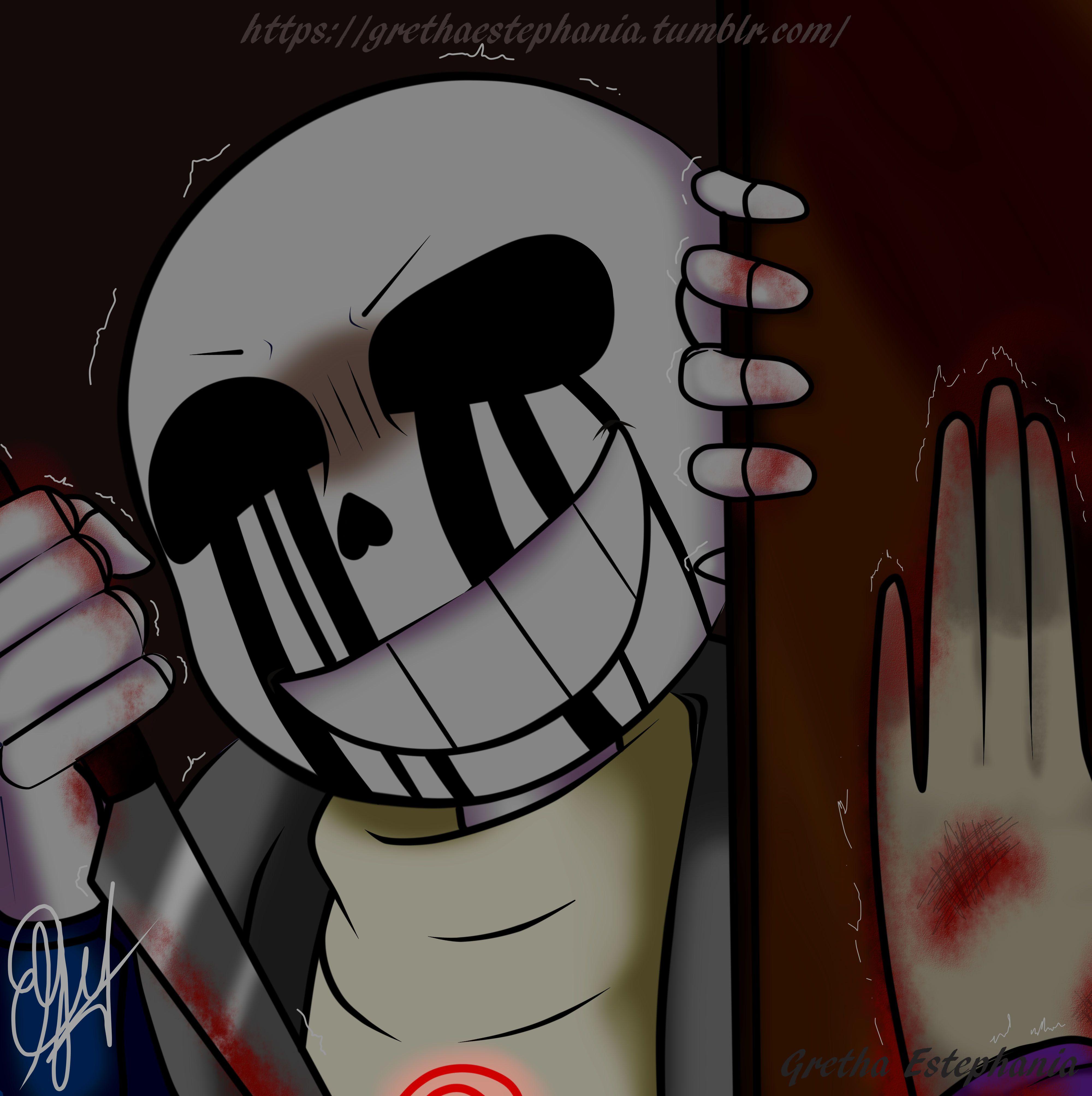Killer!sans | ♡Undertale♡ | Ilustraciones, Retratos y Pinturas