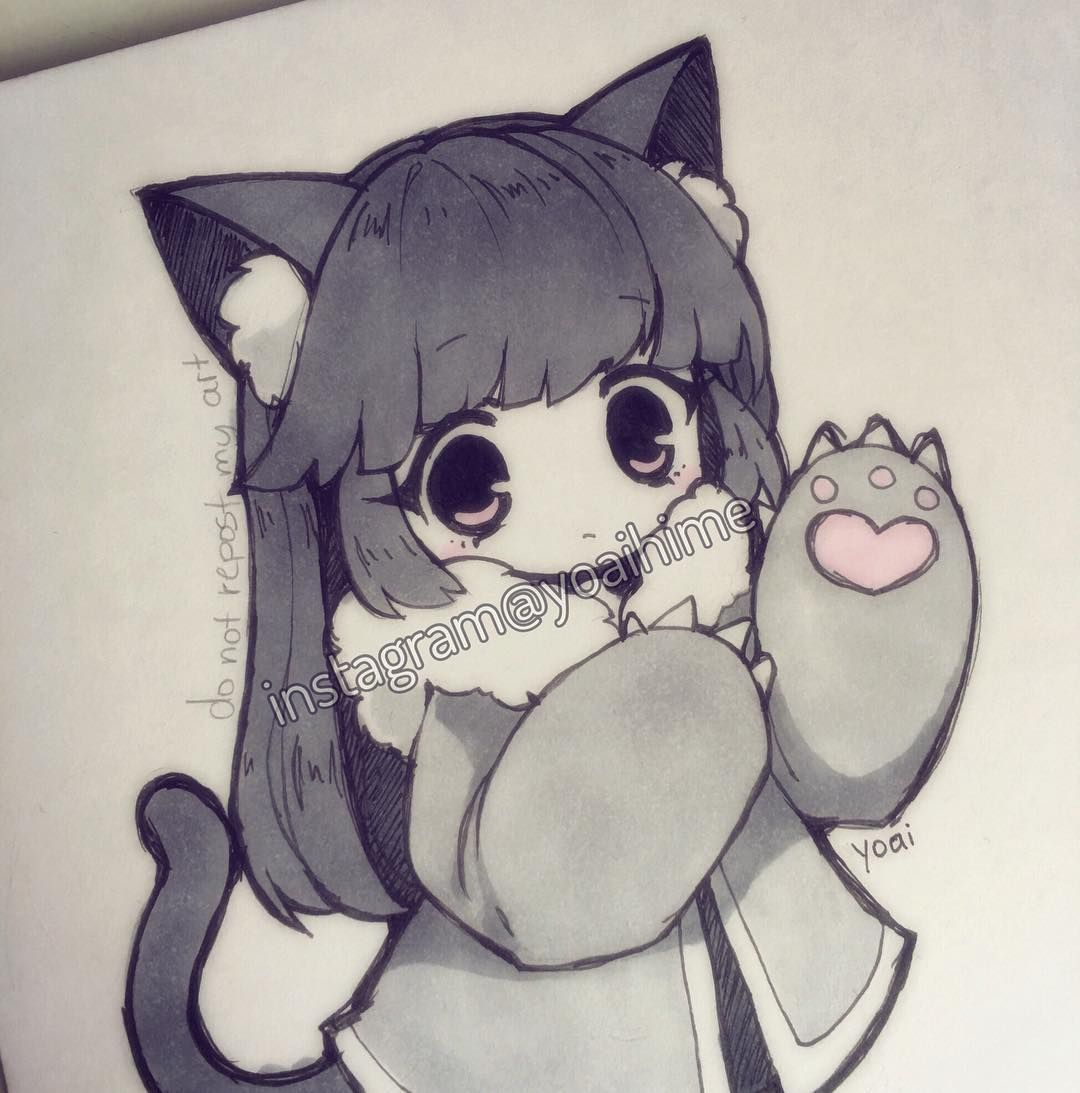 Credit To The Artist Yoaihime Instagram With Images Chibi