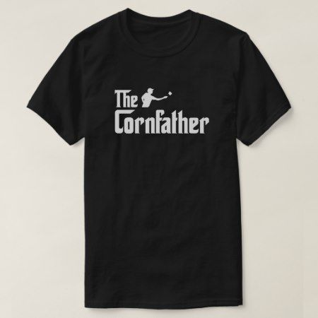The Cornfather Cornhole shirt - click/tap to personalize and buy