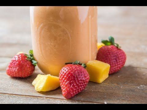 This Healthy Strawberry Mango Smoothie recipe is a refreshing and perfect toen... This Healthy Strawberry Mango Smoothie recipe is a refreshing and perfect toen... ,