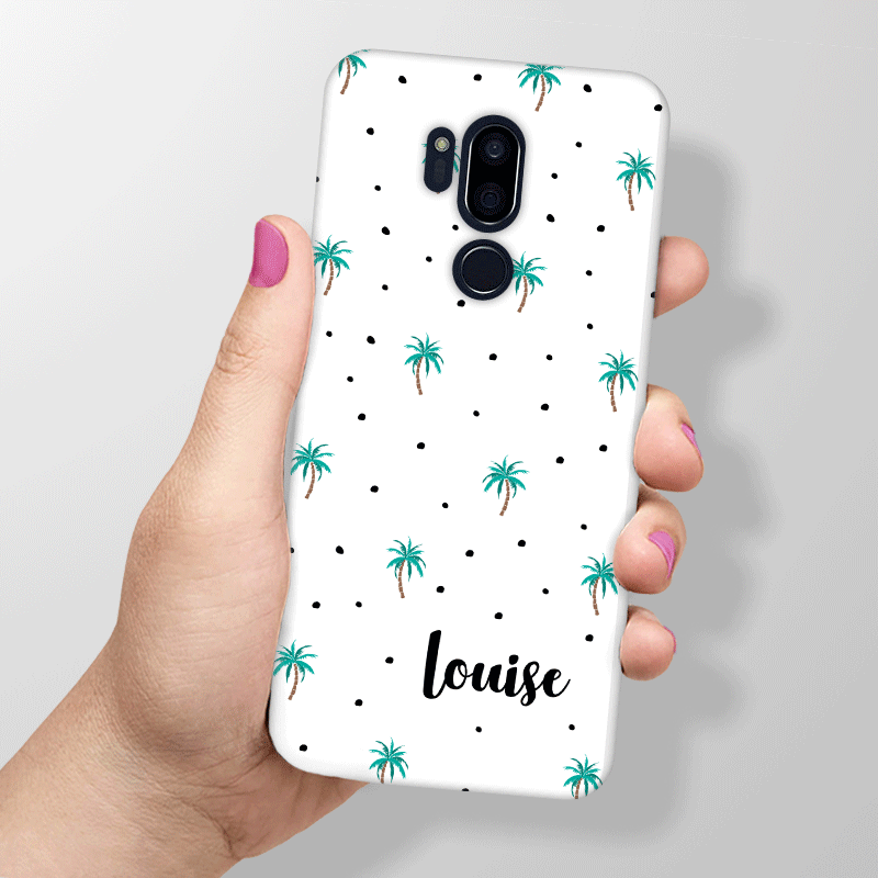 Tropical Summer Palm Tree Personalised Phone Cases for LG G7