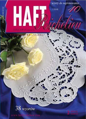 Haft Richelieu No. 40 da Wydawnictwo Joanna - Libri & Riviste - Libri & Riviste - Casa Cenina