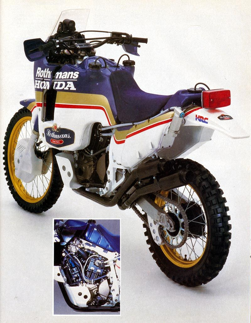 honda nxr780 paris dakar 1986 rally adventure biking. Black Bedroom Furniture Sets. Home Design Ideas